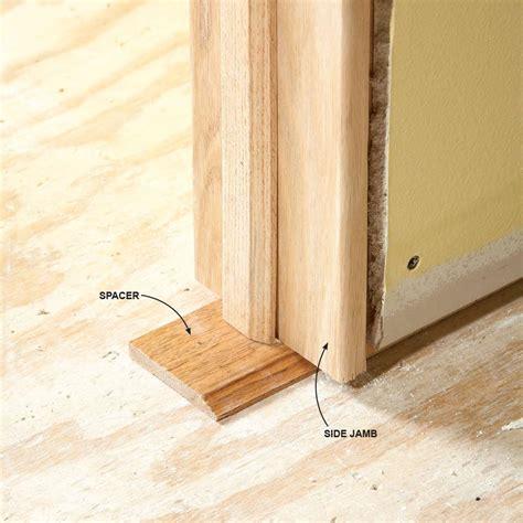 Learn How To Install A Door Right In Ten Easy Steps Install Interior Door Jamb