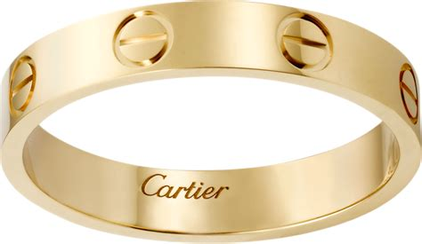 cartier 2 jarum transparant crb4085000 wedding band yellow gold cartier
