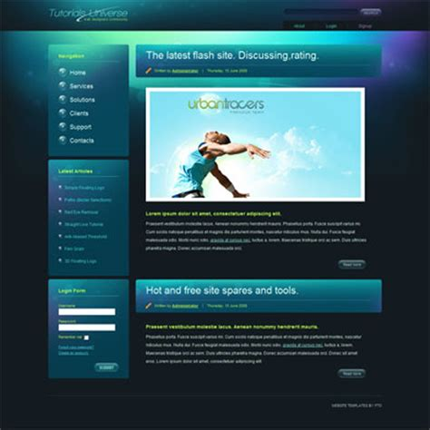 html website template free html templates free doliquid