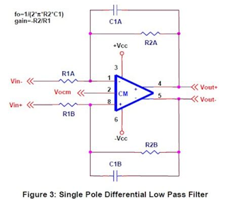 capacitor in high pass filter caf a differential op circuit collection parte ii