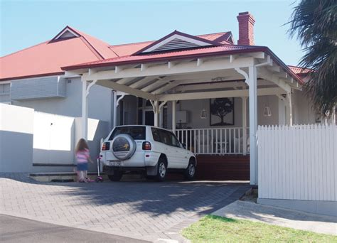 carport addition in bayswater traditional garage