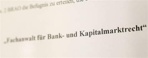 fachanwalt bank und kapitalmarktrecht bank und kapitalmarktrecht hornig dr h 228 ndler