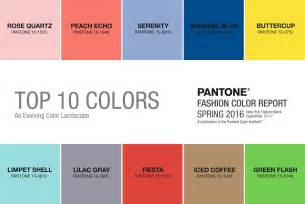 pantone spring color report 2016