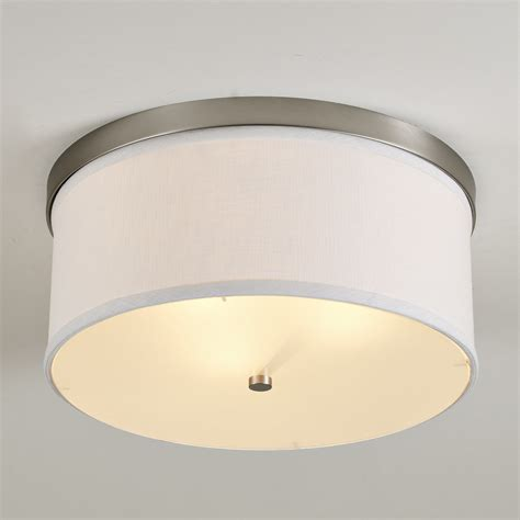 Shade For Ceiling Light Springfield Linen Shade Ceiling Light Shades Of Light