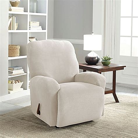 easy fit slipcover buy perfect fit 174 easy fit recliner slipcover in putty from