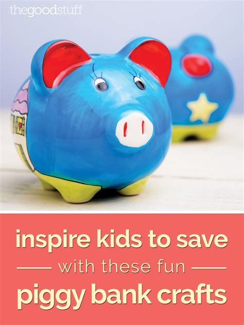 How To Make A Piggy Bank Out Of Paper Mache - inspire to save with these piggy bank crafts
