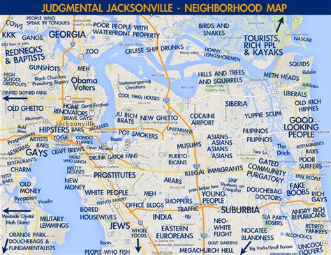 map of jacksonville judgmental maps jacksonville fl by dave copr 2014 dave