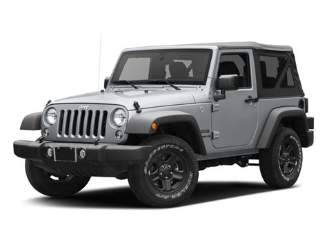 Jeep Base Price New 2017 Jeep Wrangler Sport 4x4 Msrp Prices Nadaguides