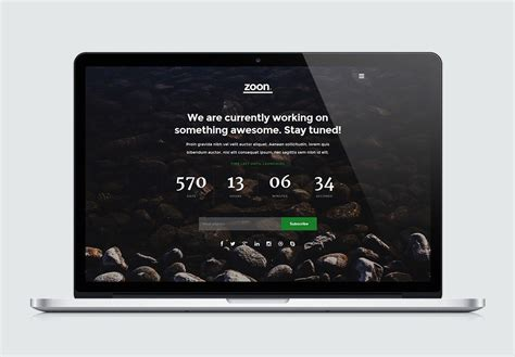 zoon high quality  website template  styleshout