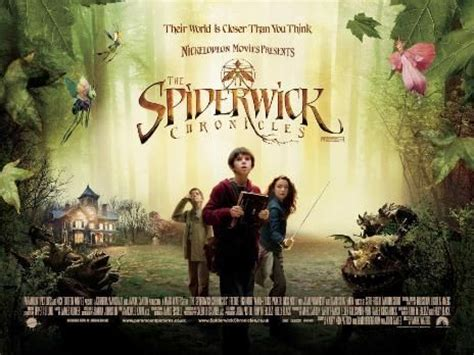 spiderwick chronicles movie poster 6 6 imp awards