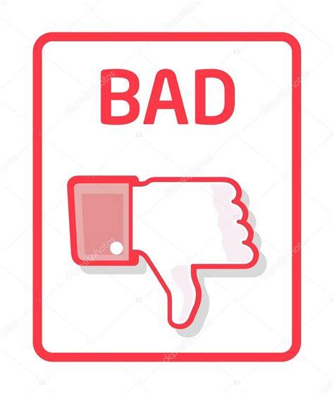 Bad Bd by Thumb Bad Stock Vector 169 Thomaspajot 8955683