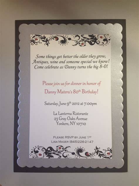 invitation wording for 80th birthday quotes for 80th birthday invitations quotesgram