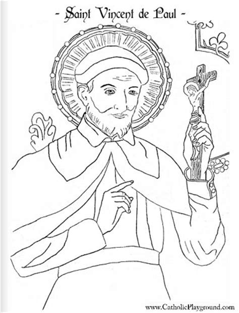 coloring page of catholic saints 17 best images about saints coloring pages on pinterest