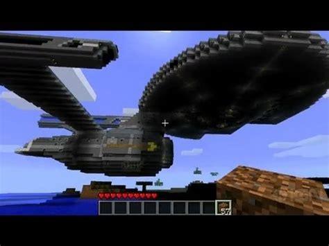 Create Blueprint minecraft how to create the uss enterprise youtube