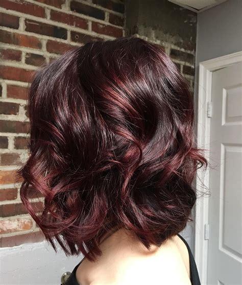 mulled wine hair    popular trend  fashionsycom