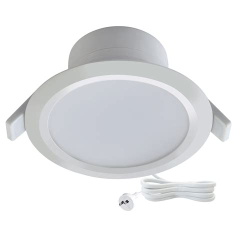 Lu Led Hannochs Basic 7w 7 Watt deta 7w warm white dimmable led downlight bunnings warehouse