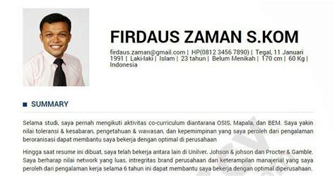 membuat cv online berbahasa indonesia www nuliscv com cara baru membuat curriculum vitae cv