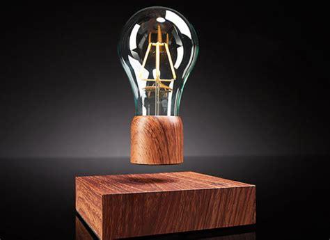 levitating bulb sharper image launches levitating light bulb