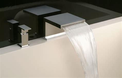 rubinetto bagno a cascata rubinetti da bagno a cascata a e vicenza