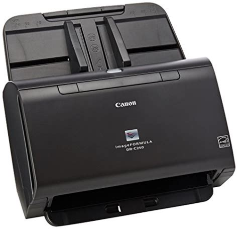 Canon Document Scanner Dr C240 canon imageformula dr c240 document scanner black and