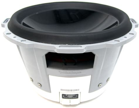 boat engine noise through speakers rockford fosgate m110s4 10 quot free air marine subwoofer