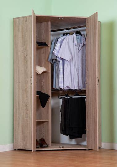 Livingroom Sets Chester Standard Corner Wardrobe With Sonoma Light Oak
