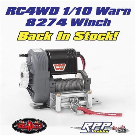 Winch Warn 8274 1 rc4wd 1 10 warn 8274 winch back in stock rccrawler