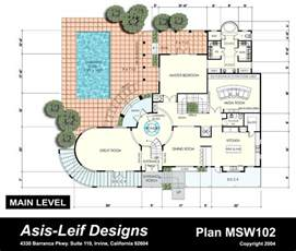 Interesting Floor Plans by Free Home Plans Unusual House Plans