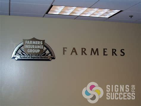 metal laminate  acrylic  foam signs  success