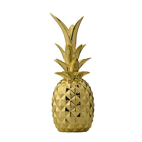 new year pineapple decoration trendy pineapple decoration gold lesgifts