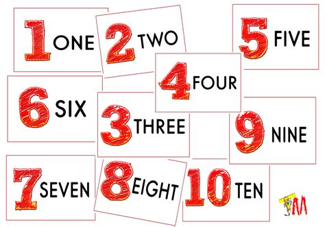 printable numbers 1 10 8 best images of printable very large numbers 1 10 large