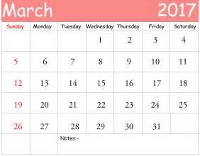 free march calendar template march 2017 calendar printable template pdf uk usa canada