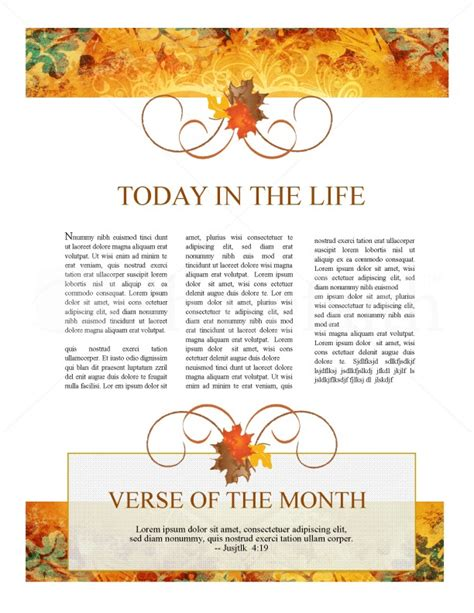 heart thanksgiving newsletter template newsletter