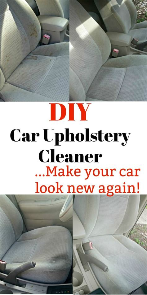 car upholstery diy diy cars hacks this diy car upholstery cleaner will get