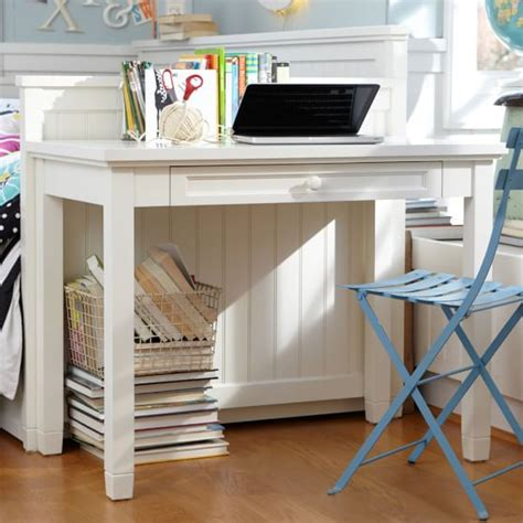 desk for teenager beadboard small desk pbteen