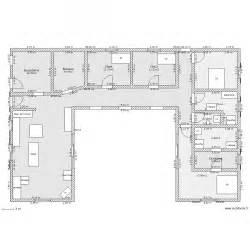 maison en u plan 11 pi 232 ces 165 m2 dessin 233 par mika17