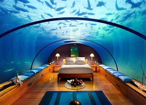 fiji underwater rooms 7 underwater hotels around the world maldives travel arabianindustry