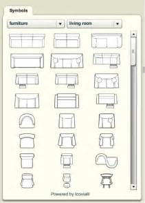 Floor Plan Symbols by Plans To Build Furniture Symbols For Floor Plans Pdf Plans