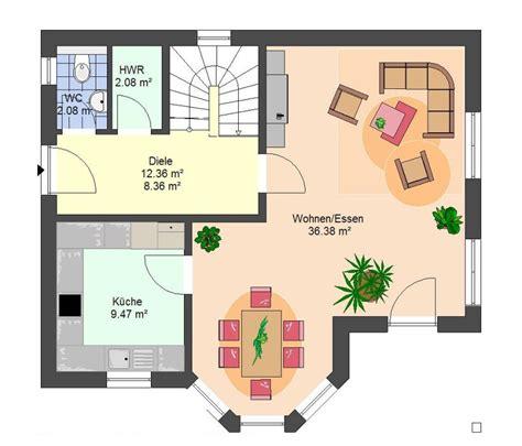Grundriss Eg Einfamilienhaus by Einfamilienhaus Efh Massivhaus Typ Darmstadt