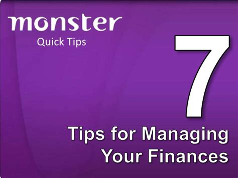 7 Tips For Budgeting Your Finances by 7 Tips For Managing Your Finances