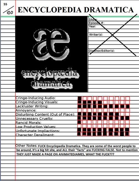 Meme Encyclopedia - encyclopedia dramatica atrocity notebook by fantaman582 on deviantart