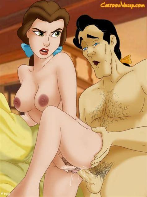 Gaston Fucks Belle Porn Disney