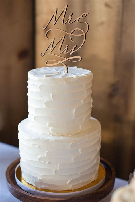 Wedding Cake Simple by The Structure In The Butter Modern And