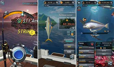 download game bass fishing mod apk fishing hook 1 6 9 apk mod money for android