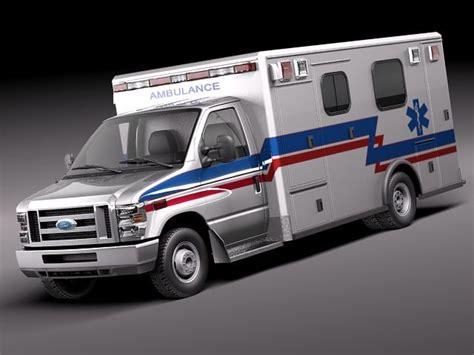 Ambulance Series e series e 450 ambulance vehicle 3d model