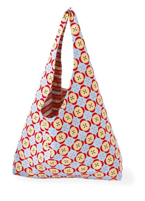 pattern fabric handbag sew a reversible handbag using bright graphic fabrics