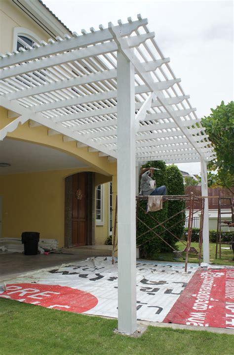 oriental pergola for driveways thai garden design