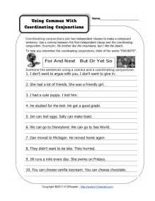 coordinating conjunction worksheets abitlikethis