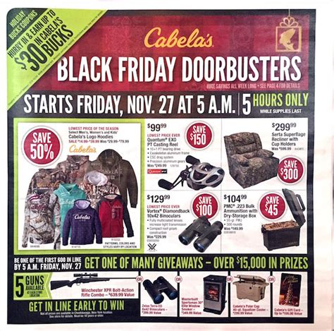 Cabelas Black Friday Giveaway - cabela s black friday ad 2015 black friday ads