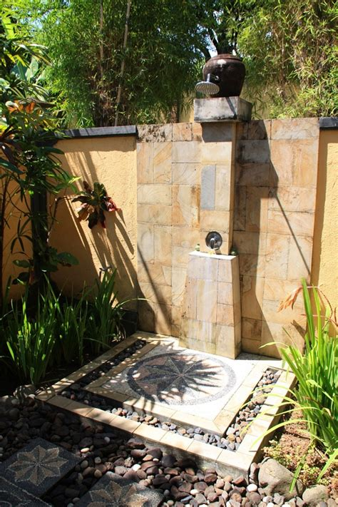 Garden Shower Ideas Outdoor Pool Shower Ideas